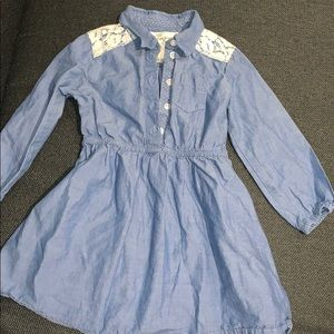 H&M girls denim dress